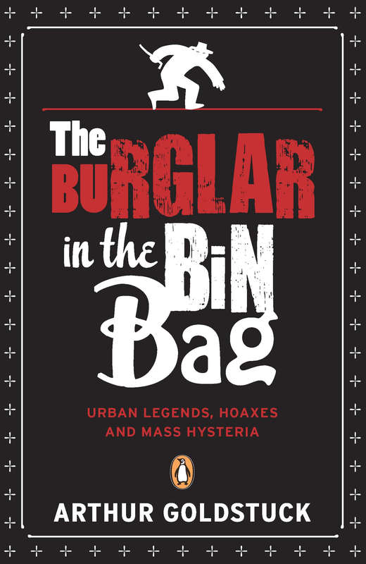The Burglar In The Bin Bag Cover